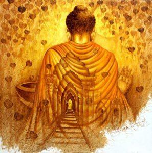 จิตไม่หวั่นไหว, นินทา, สรรเสริญ, ภิกษุ, พระ, พระพุทธเจ้า, พระศาสดา, พระสัมมาสัมพุทธเจ้า, Buddha, The Buddha, เส้นทาง, road
